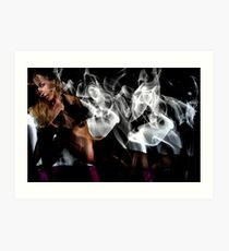 Fantasies In Smoke I Art Print