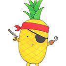 Pineapple Pirate by TakoraTakora