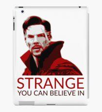 Vote Doctor Strange! iPad Case/Skin