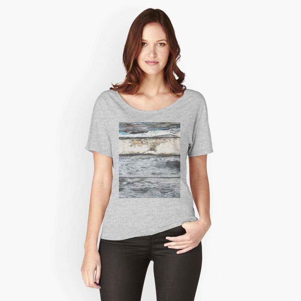 rustikales westliches Landbauernhaus graues Scheunenholz Loose Fit T-Shirt