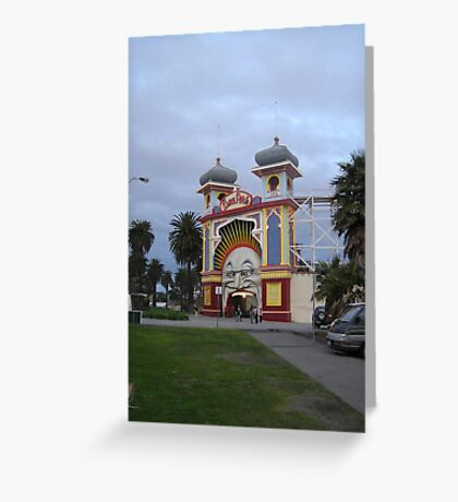 Just for fun Luna Park entrance Greeting Card