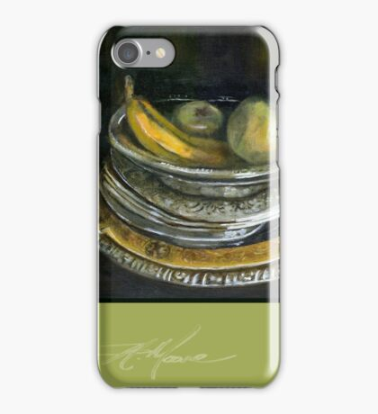 China Cabinet Still Life I. FA Moore Signature design, in Apple Green iPhone Case/Skin