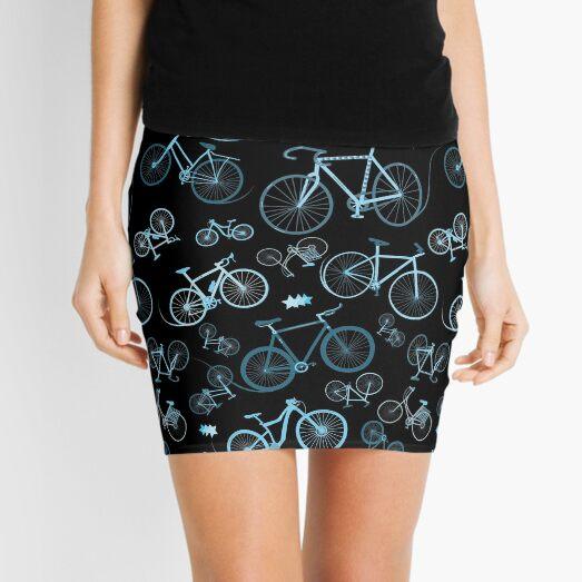 I love Bikes  Mini Skirt