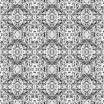Boho Monochromatic Pattern by widmore