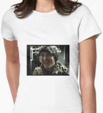 Os Cobblepot covered in feathers Women's Fitted T-Shirt