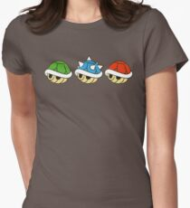 Camiseta entallada para mujer Mario Kart Items- Conchas