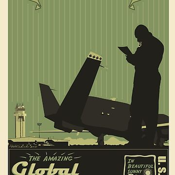 Beale AFB - Global Hawk Poster by OldDawg