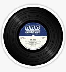 BBC Radiophonic Workshop Record - Doctor Who Single Sticker
