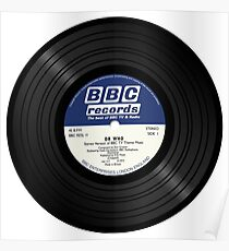 BBC Radiophonic Workshop Record - Doctor Who Single Poster