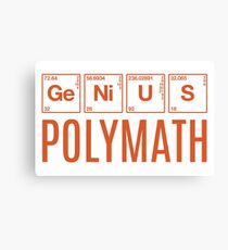 Genius Polymath Canvas Print
