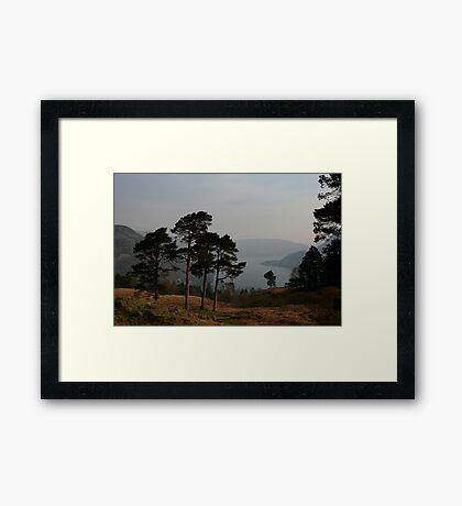 Ullswater Haze Framed Print