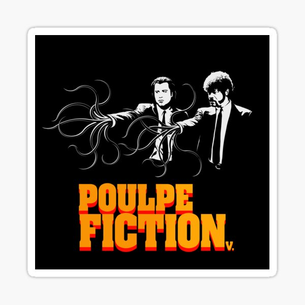 Poulpe Fiction Sticker