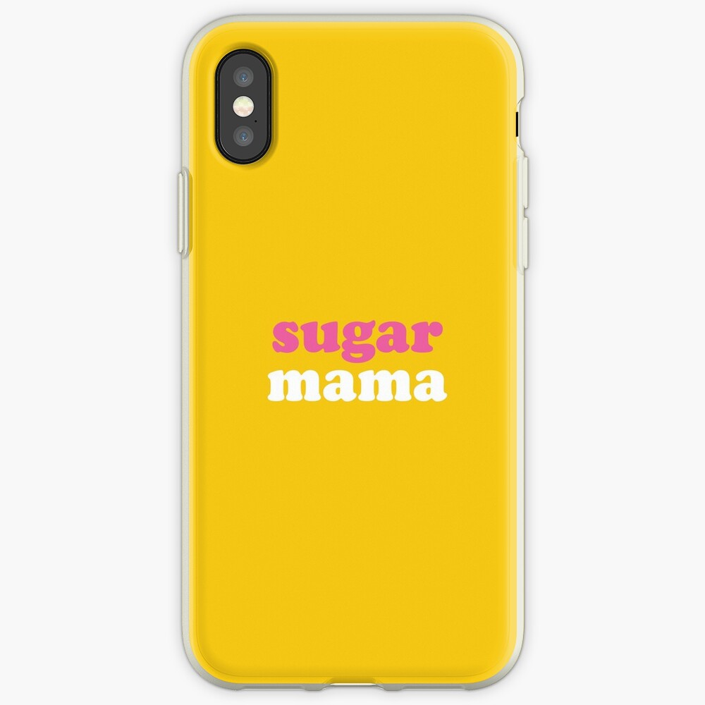 Sugar Mama iPhone Cases & Covers