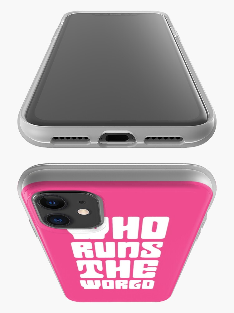 Alternate view of Who runs the world? GIRLS iPhone Case & Cover
