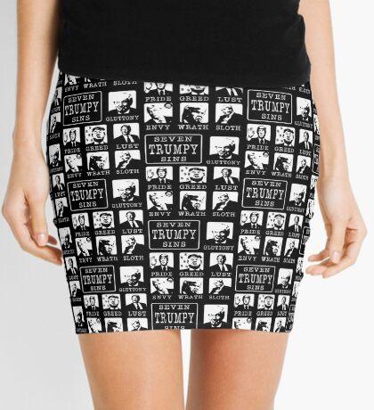 Seven Trumpy Sins Mini Skirt