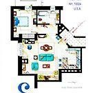 Seinfeld Apartment - Updated by Iñaki Aliste Lizarralde