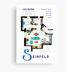 Seinfeld Apartment - Updated Canvas Print