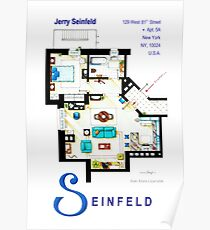 Seinfeld Apartment - Updated Poster