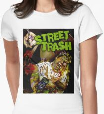 STREET TRASH Women's Fitted T-Shirt