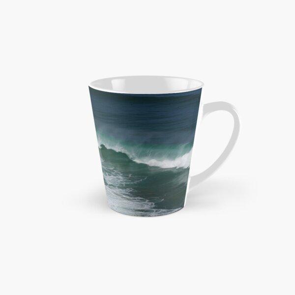 Ocean nautical beach minimalist, wall art, ocean poster Tall Mug