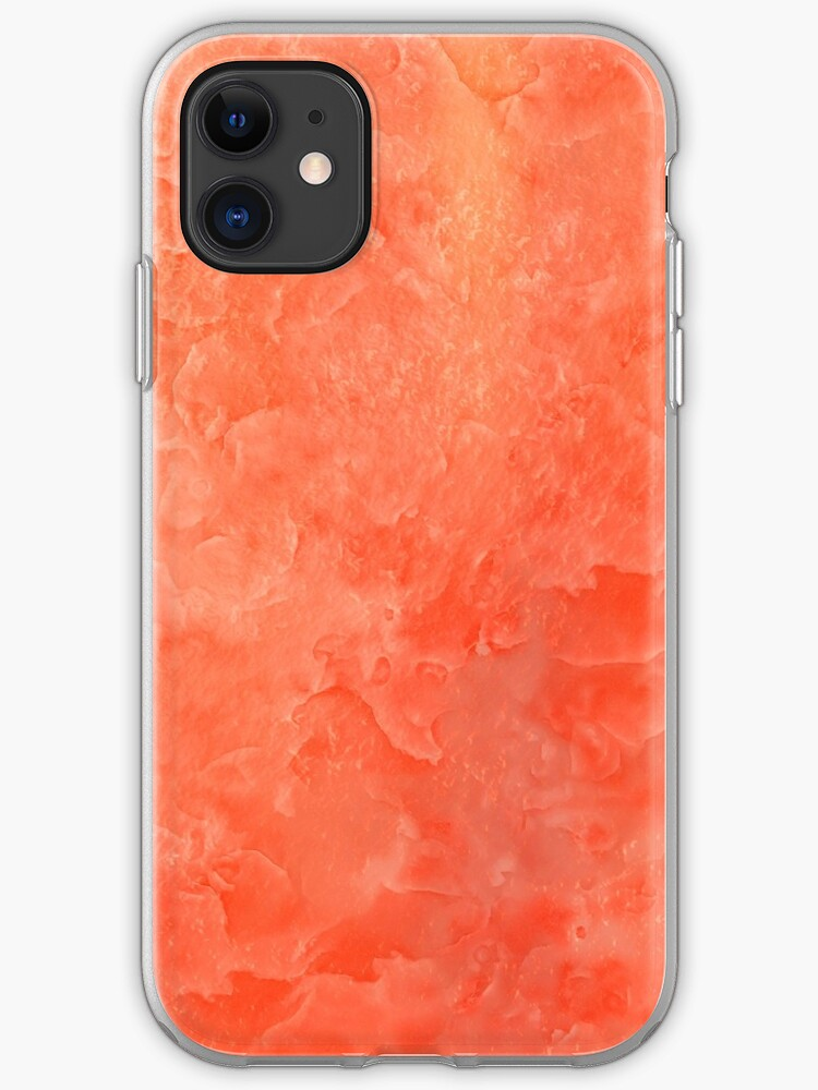 Red Orange And Yellow Crystal Background Cute Girly Vibrant Pattern Iphone Case Cover By Quaintrelle Redbubble