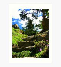 Heaven's Stairway Art Print
