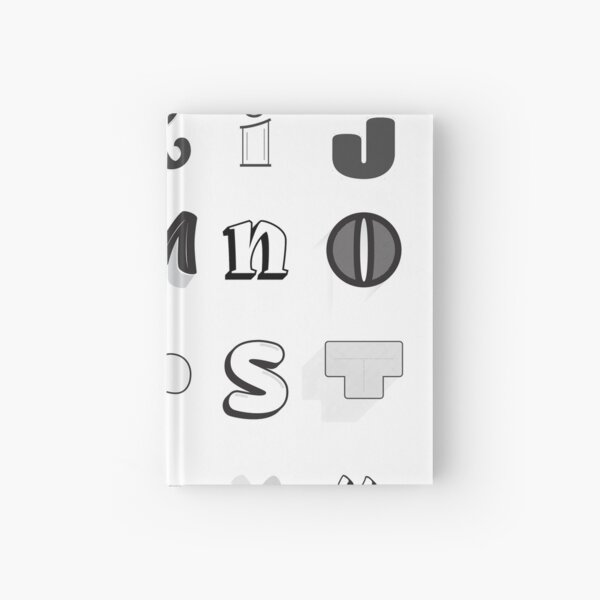 36 Days of Type 05  - Complete Alphabet Hardcover Journal
