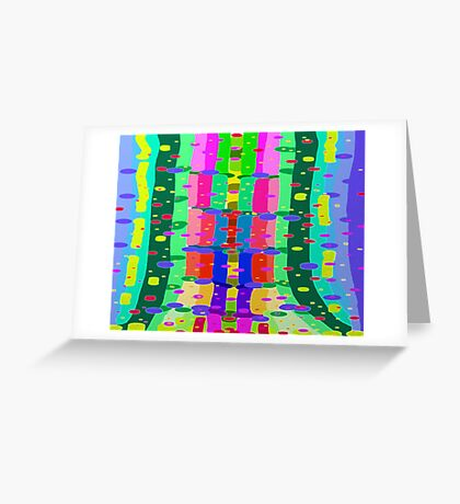 My Hippie Forest 2 Greeting Card