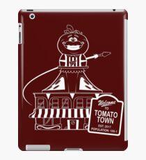 Welcome to Tomato Town iPad Case/Skin