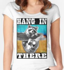 Hang In There Women's Fitted Scoop T-Shirt