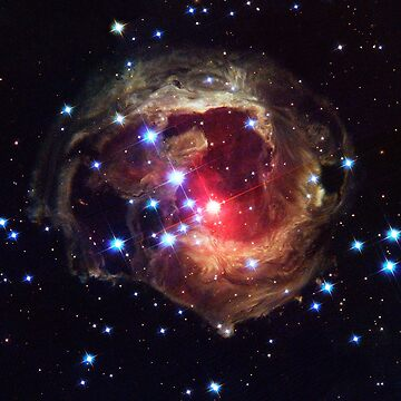 Star Dust Halo Around a Distant Star by Greenbaby