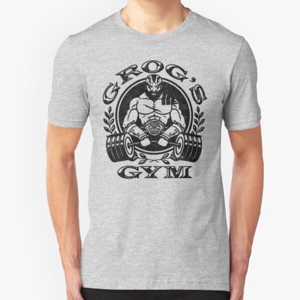 Grog's Gym Slim Fit T-Shirt