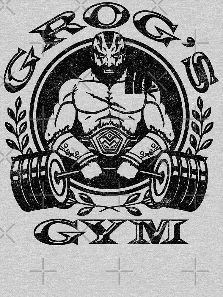 Grog's Gym by huckblade