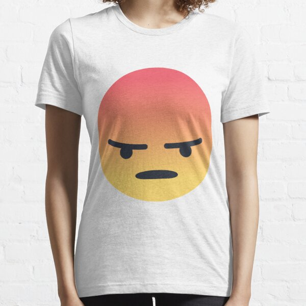 Facebook Angry Face Emoji Essential T-Shirt