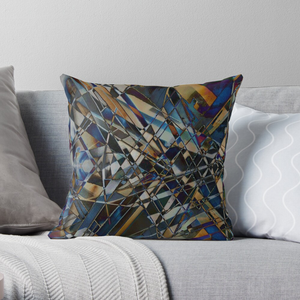 Kaleidoscope #13 Throw Pillow