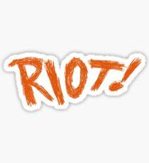 Paramore Riot Sticker