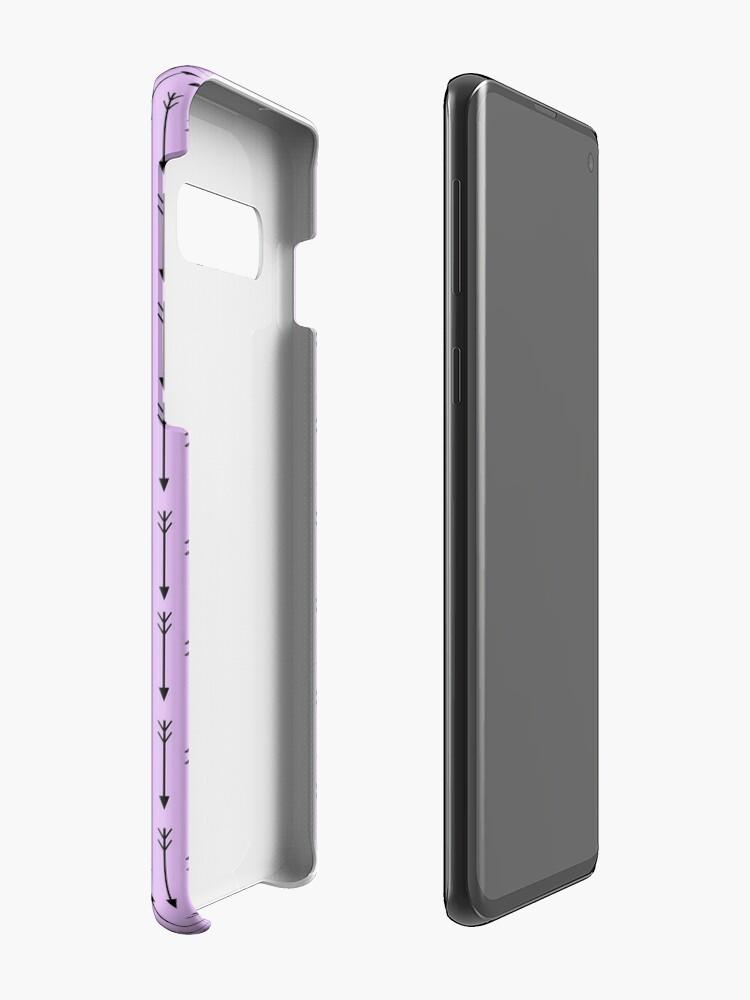 Vista alternativa de Funda y vinilo para Samsung Galaxy Gosh, me encantan las flechas