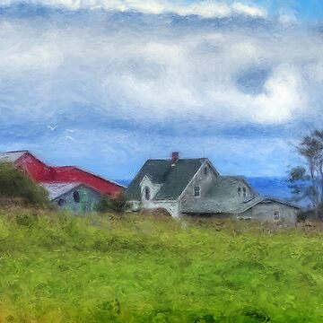 Farmhouse by the Sea by kenmo