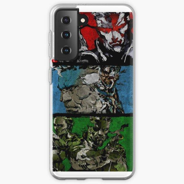 Metal Gear Saga Samsung Galaxy Soft Case