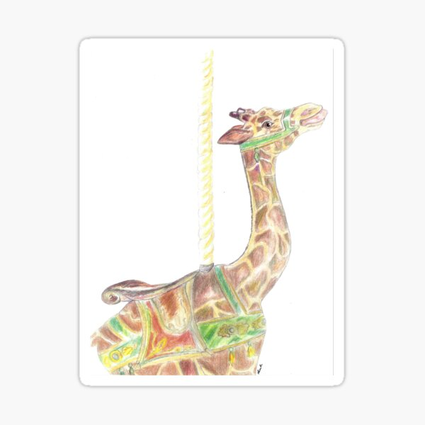 Loof Giraffe, Spokane Sticker
