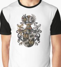 Red Coat of Arms Graphic T-Shirt