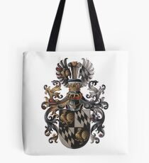 Transparent Background - Red Coat of Arms  Tote Bag