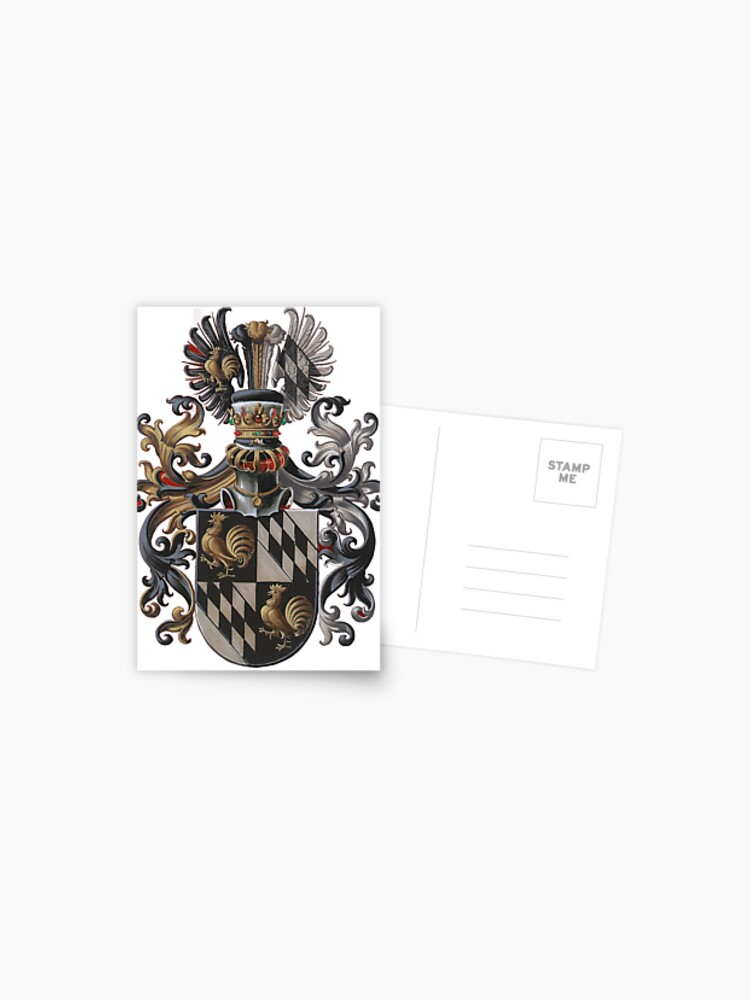 Transparent Background Red Coat Of Arms Postcard By 9shirts Redbubble