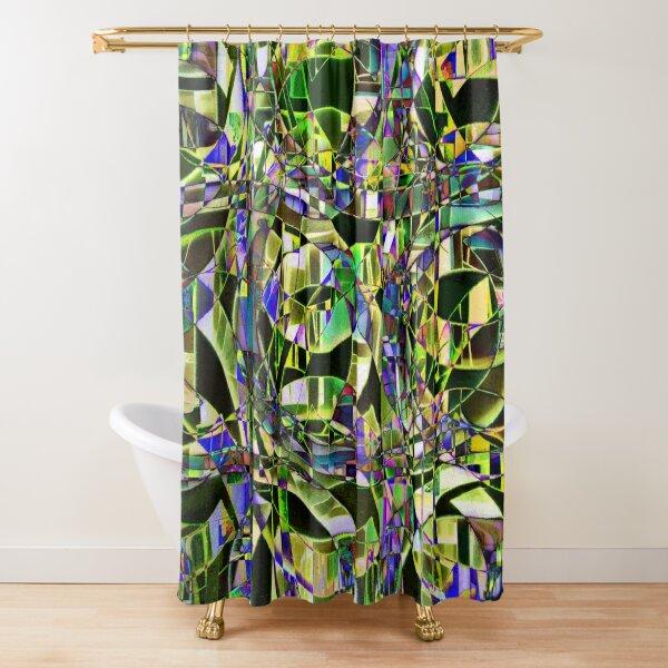 Kaleidoscope #8 Shower Curtain
