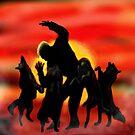 Dancing With Wolves by Herbert Renard