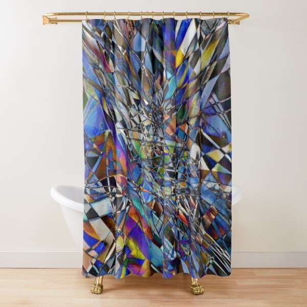 Kaleidoscope #7 Shower Curtain