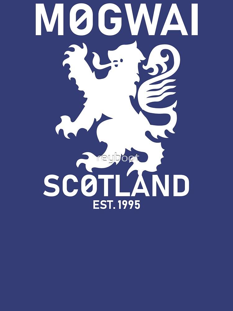 Mogwai Scotland de reyboot