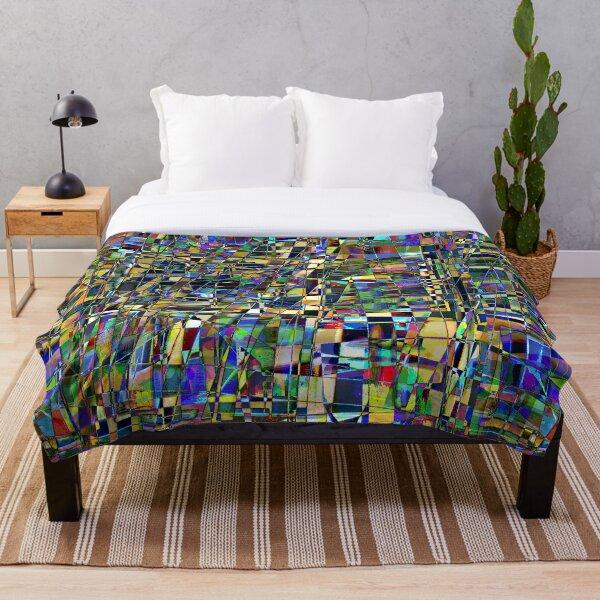 Kaleidoscope #6 Throw Blanket
