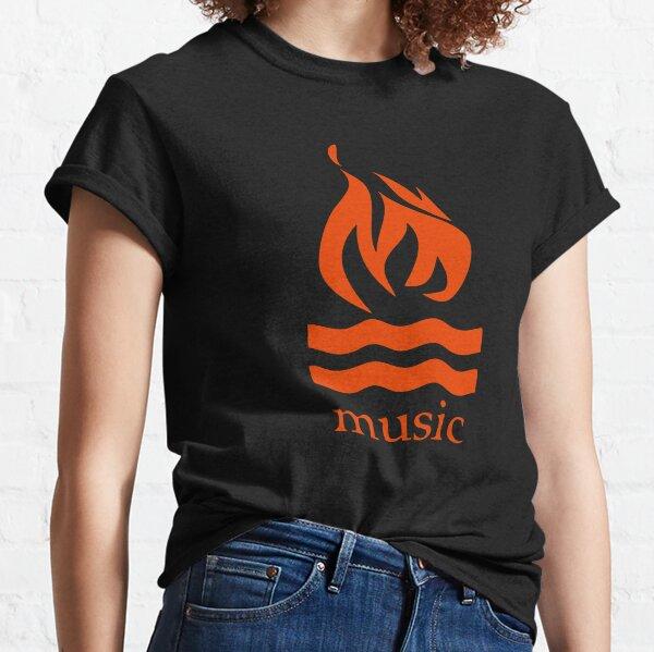 Hot Water Music Flame Classic T-Shirt