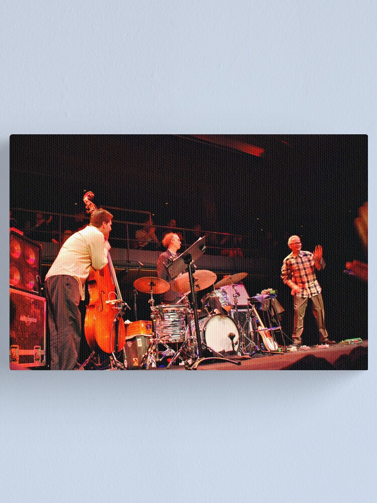 Alternate view of Bill Frisell Trio in 'The Studio' Sydney Opera House Canvas Print
